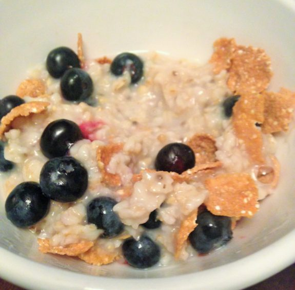 oatmeal with cereal