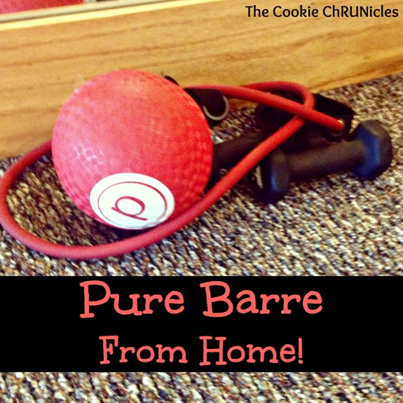 Pure Barre From Home!