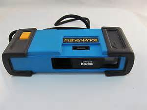 fisher price blue camera