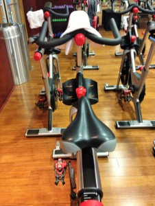 Lifetime Fitness Spin Class