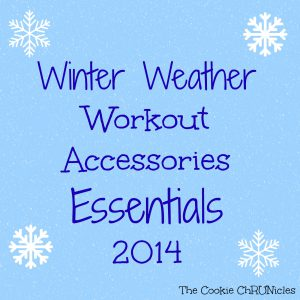 winter weather workout accessories essentials 2014