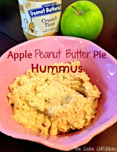 apple peanut butter pie hummus