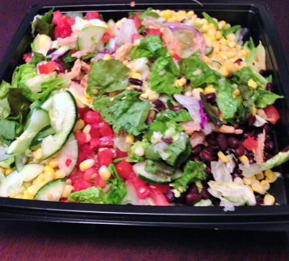 salad from The Cheesecake Factory