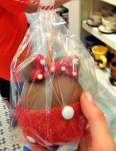 Minnie Mouse Chocolate Covered Apple