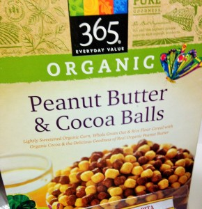 organic 365 peanut butter and cocoa balls
