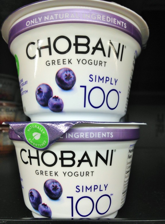 chobani 100 blueberry greek yogurt