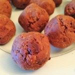 flourless fudge brownie bites