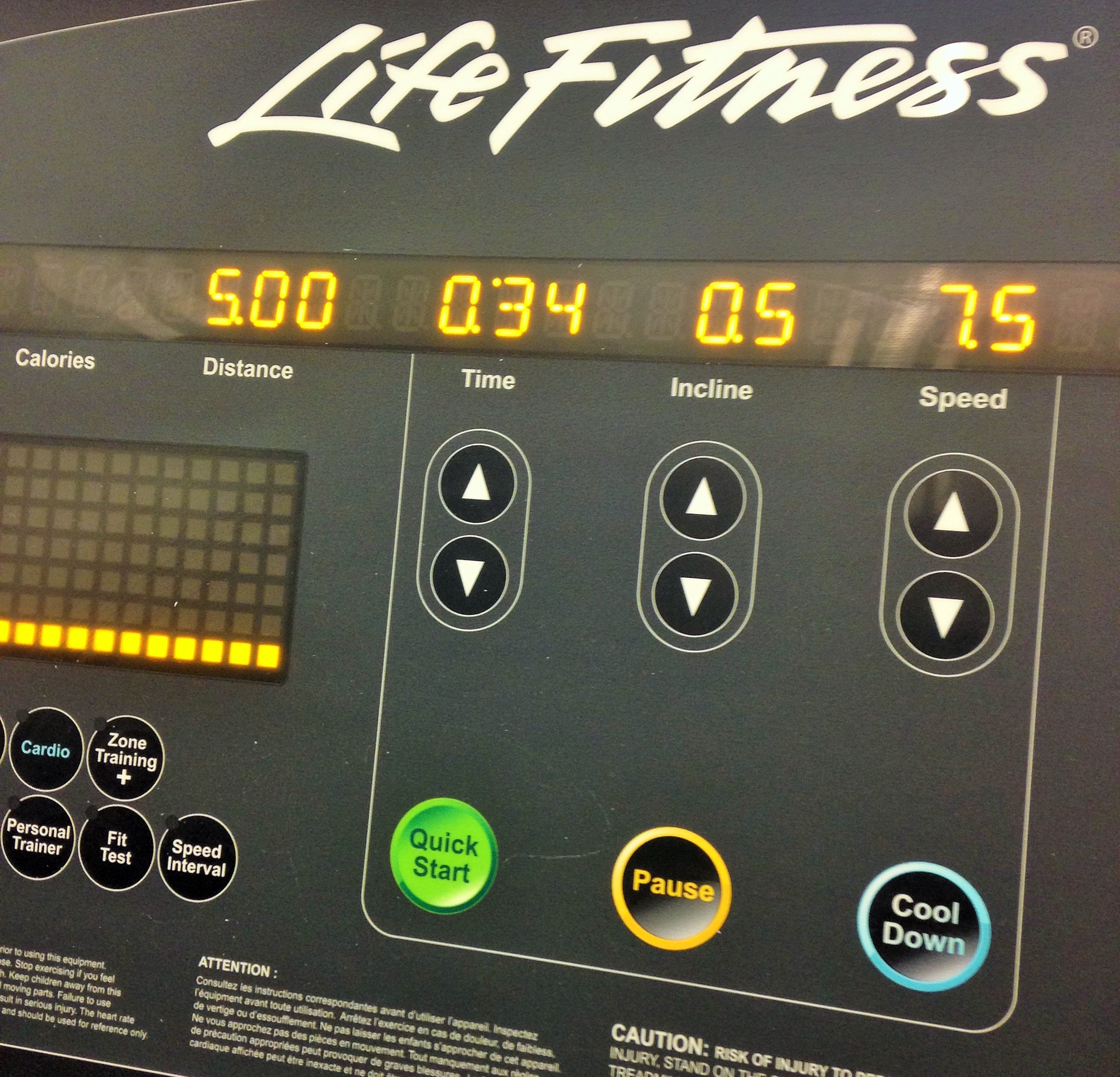 How Much Is A Mile >> Mental Breakdown Of A Routine Treadmill Run