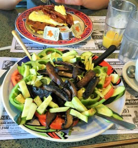 salad from diner