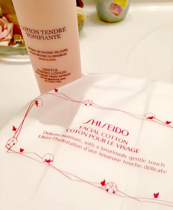 shiseido-facial-cotton