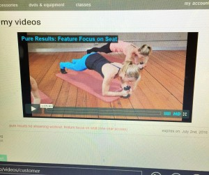 Pure Barre Online Workout