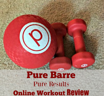 Pure Barre Pure Results Online Workout Review