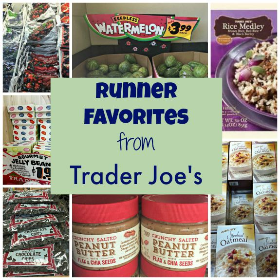 Runner Favorites from Trader Joe's