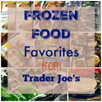 frozen food favorites from Trader Joe's