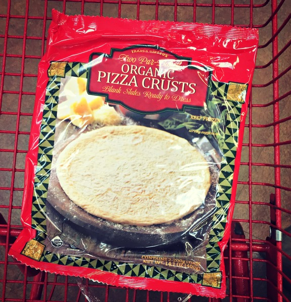 Trader Joe's frozen organic whole wheat pizza crust