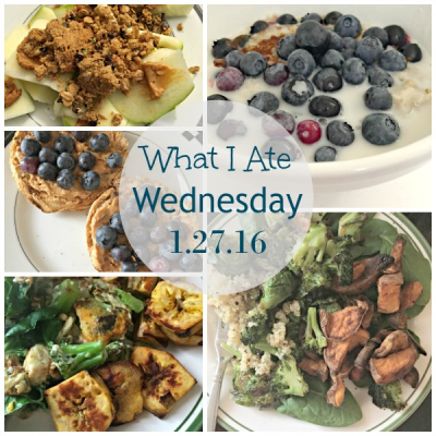What I Ate Wednesday 1/27/16