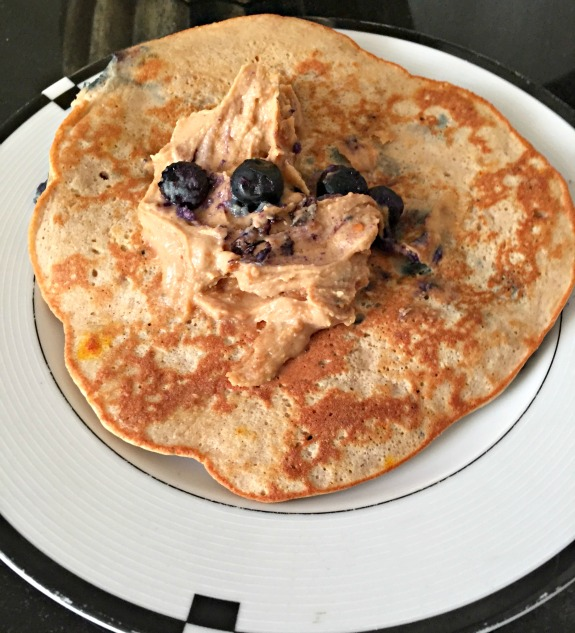 three ingredient pancake