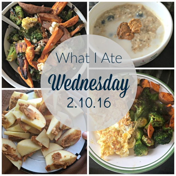 What I Ate Wednesday February 10, 2016