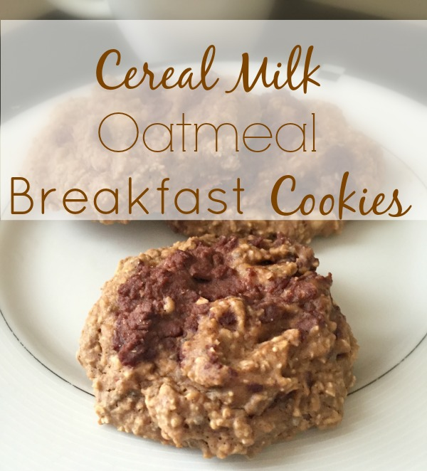 cereal milk oatmeal breakfast cookies