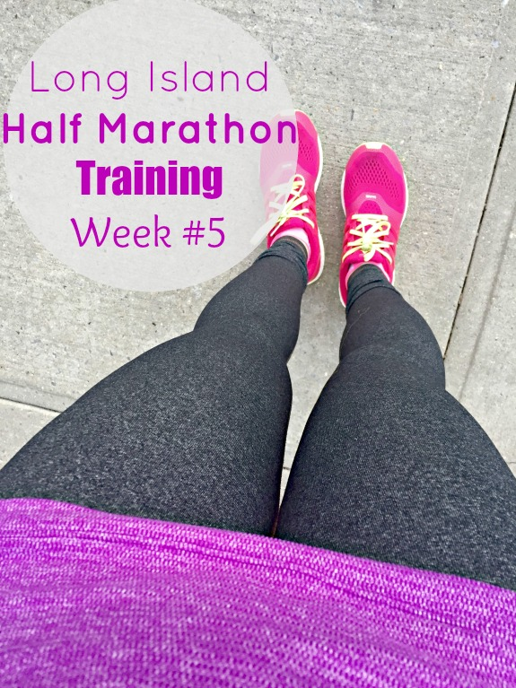 Long Island Half Marathon Training week #5