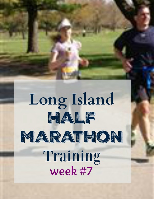 long island half marathon training week 7