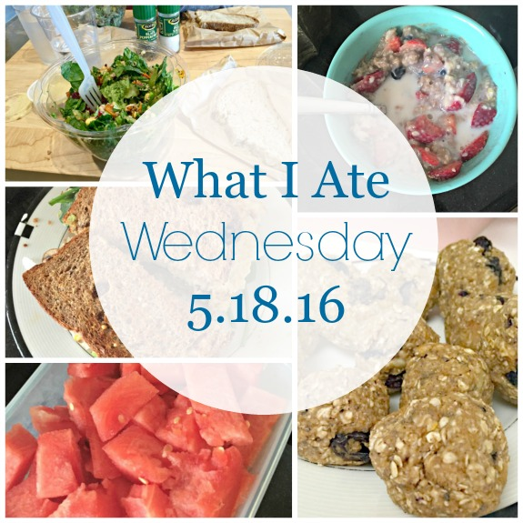 what I ate wednesday 5/18/16