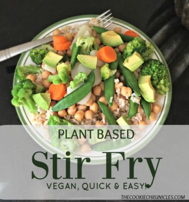 Plant Based Stir Fry Using Success Whole Grain Brown Rice