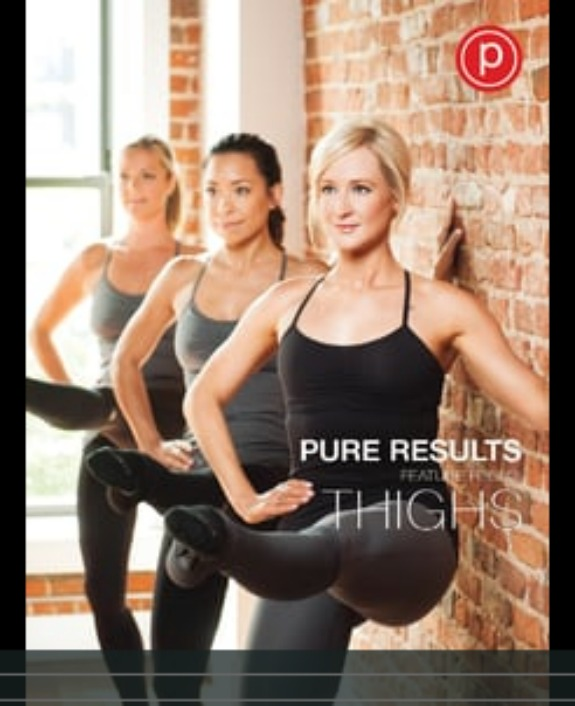 Pure Barre Pure Results Focus on Thighs