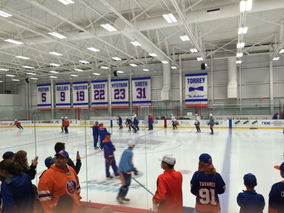 Islanders training camp