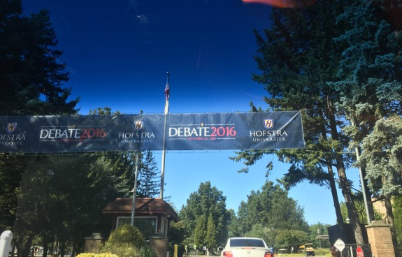 presidential debate at Hofstra