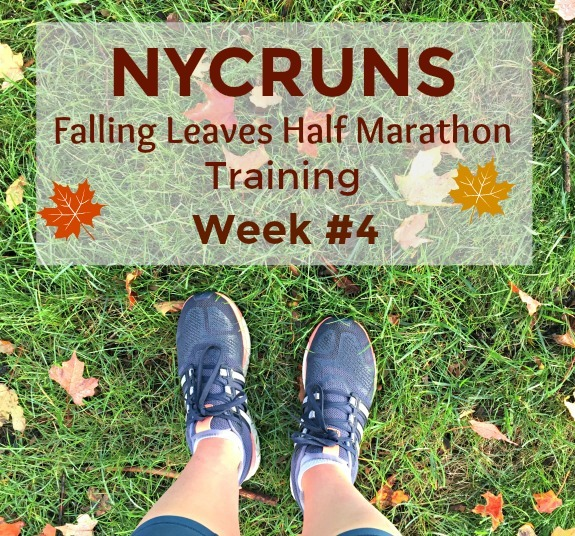 NYCRUNS Falling Leaves Half Marathon Training Week 4