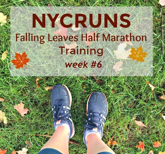 nycruns falling leaves half marathon training week #6