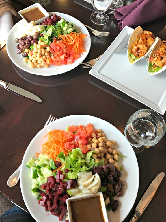 vegetarian chef salads