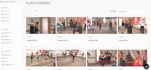 pure barre online workouts