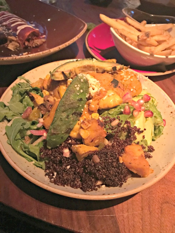 Vegetarian Tacos at Dos Caminos (WIAW)