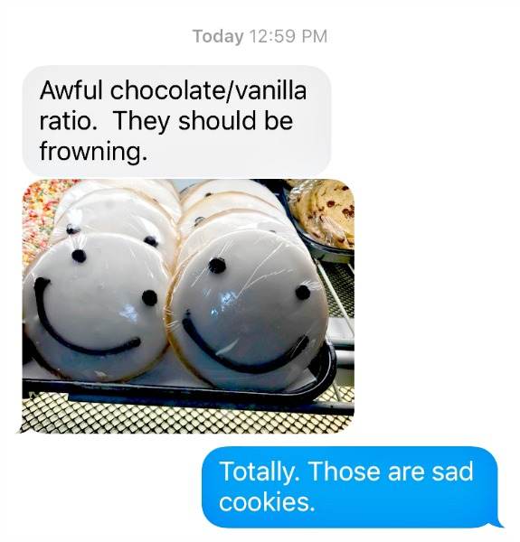 cookie text