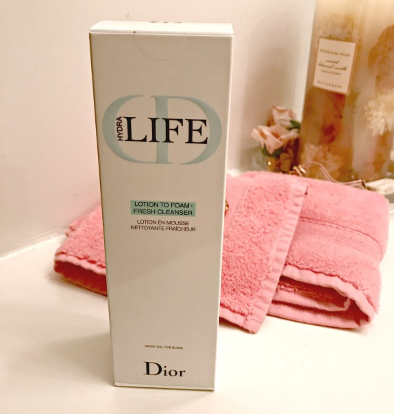 Dior Hydra Life Lotion to Foam Cleanser