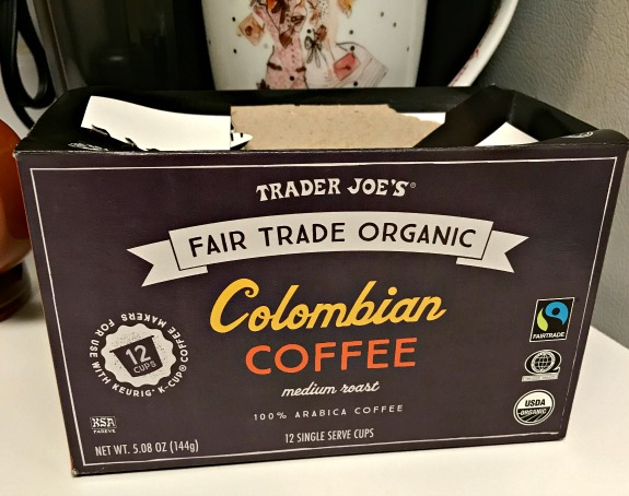 Trader Joe's columbian coffee