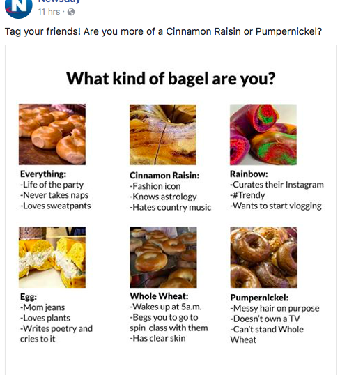 what kind of bagel are you
