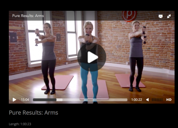 Pure Barre Pure Results Arms