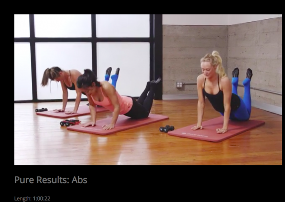 pure barre pure results abs