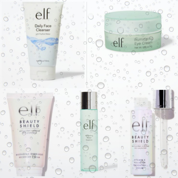 elf cosmetics skincare review