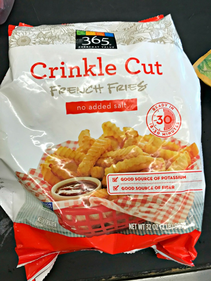 Whole Foods 365 crinkle cut French fries