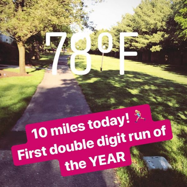 First Double-Digit Run of the Year! (workout recap)