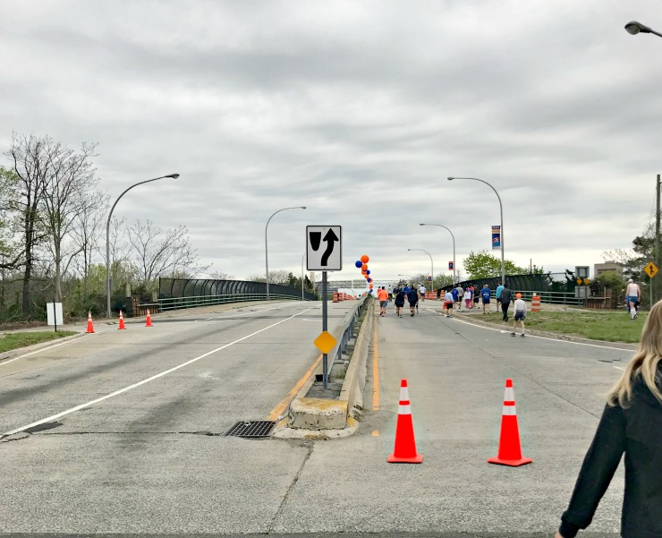 Long Island marathon weekend
