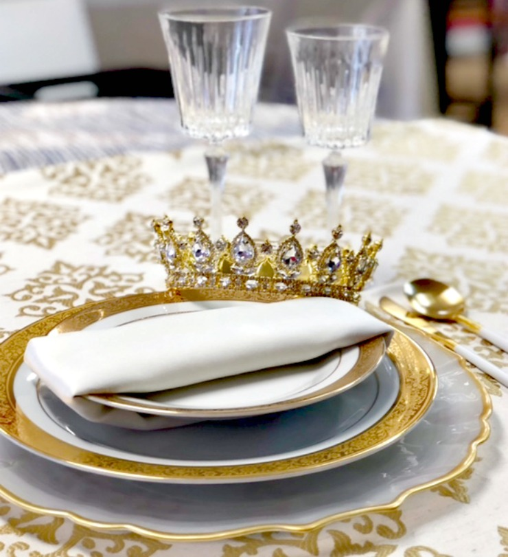 royal wedding tabletop