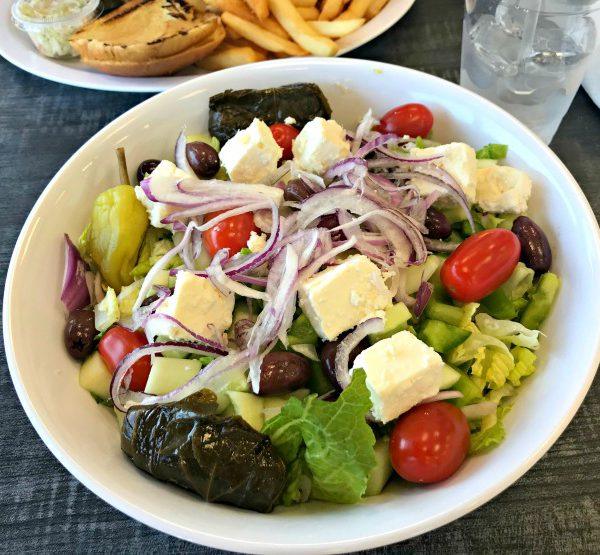 Recent Meals + Tried Greek Cove
