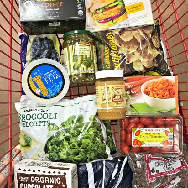 Trader Joe's Shop + More About My Appetite From Running Less