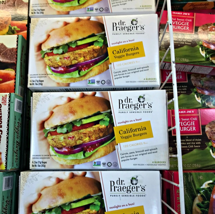 dr. prayer's veggie burgers
