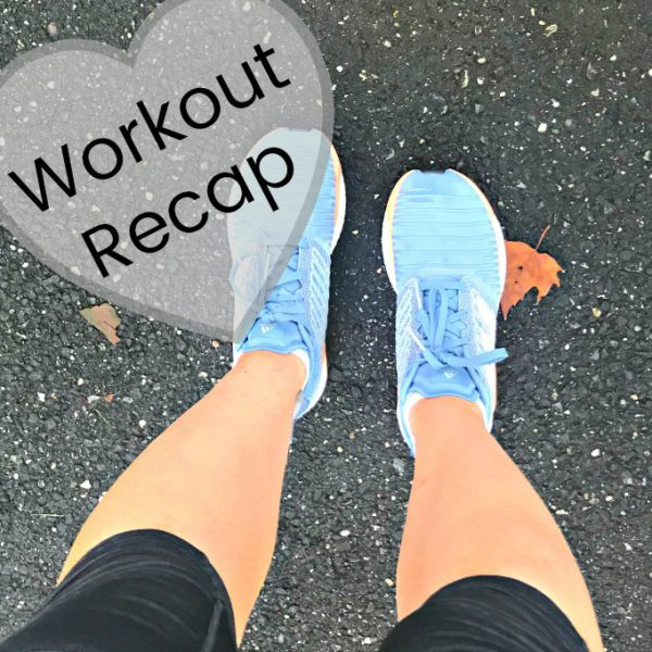 Workout Recap (8.5.18 – 8.12.18)